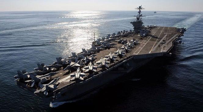 Trung Quốc 'cấm' tàu sân bay Mỹ cập cảng Hong Kong 1