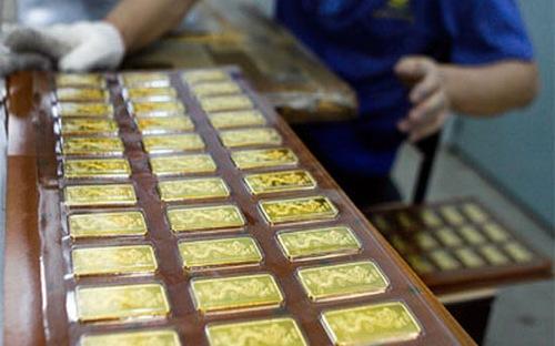Giá vàng hôm nay 3/5: Vàng SJC tăng 200.000 đồng/lượng 1