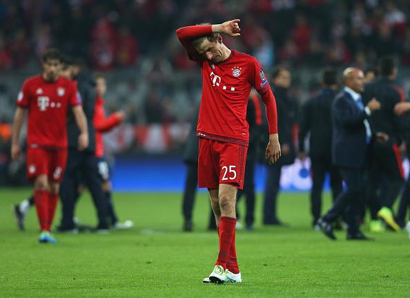 Thắng Atletico, Bayern vẫn bị loại khỏi Champions League 2