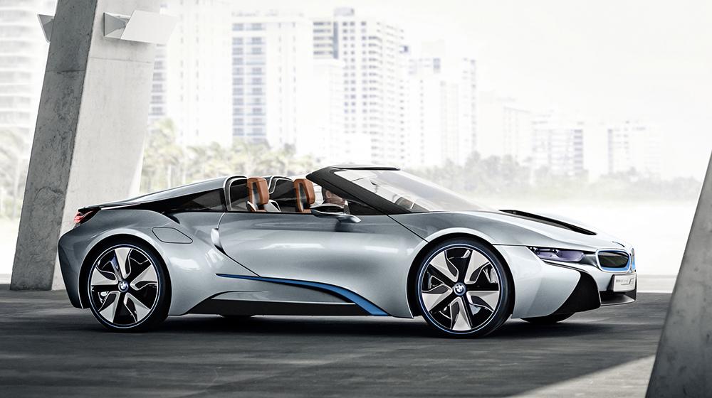BMW i8 Spyder BMW i8 2017 nâng cấp động cơ, sẽ trình làng cuối năm nay