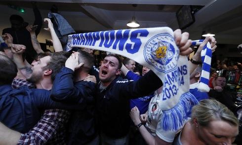 Chọn Leicester vô địch, người chơi cược 700.000 trúng hơn 3 tỷ 1
