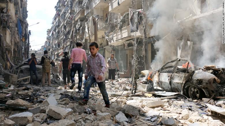 Nga – Mỹ đạt thỏa thuận ngừng bắn tại Aleppo 1