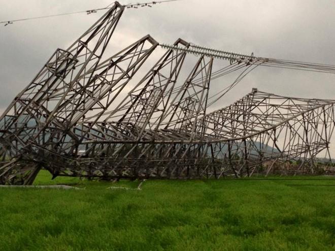 Vụ cột điện đường dây 500 KV gãy đổ: Thứ trưởng Bộ Công thương lên tiếng 2