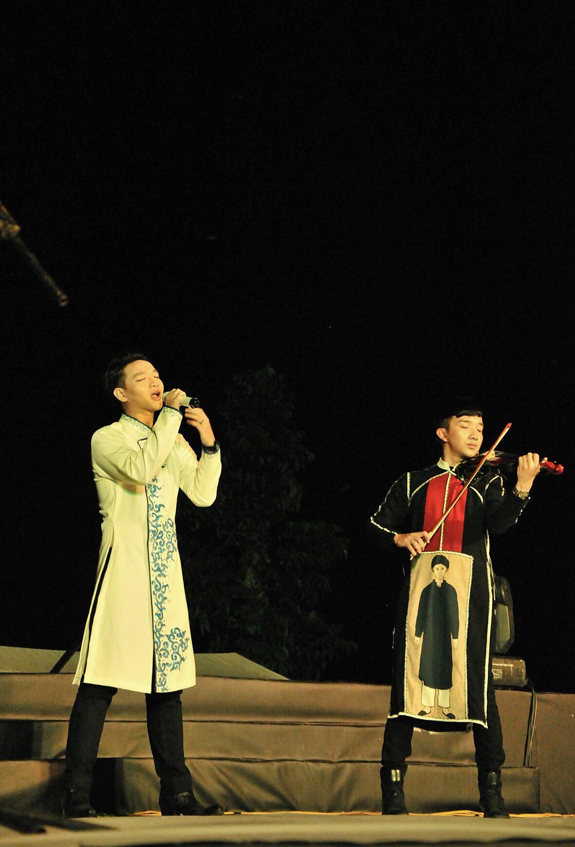 Nghệ sĩ violin Hoàng Rob thăng hoa tại Festival Huế 2016 4
