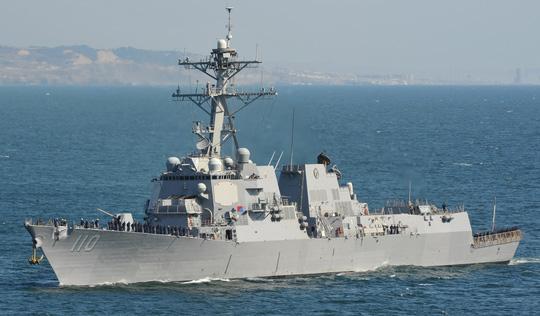 Mỹ đưa khu trục hạm tên lửa tới tuần tra Biển Đông 1