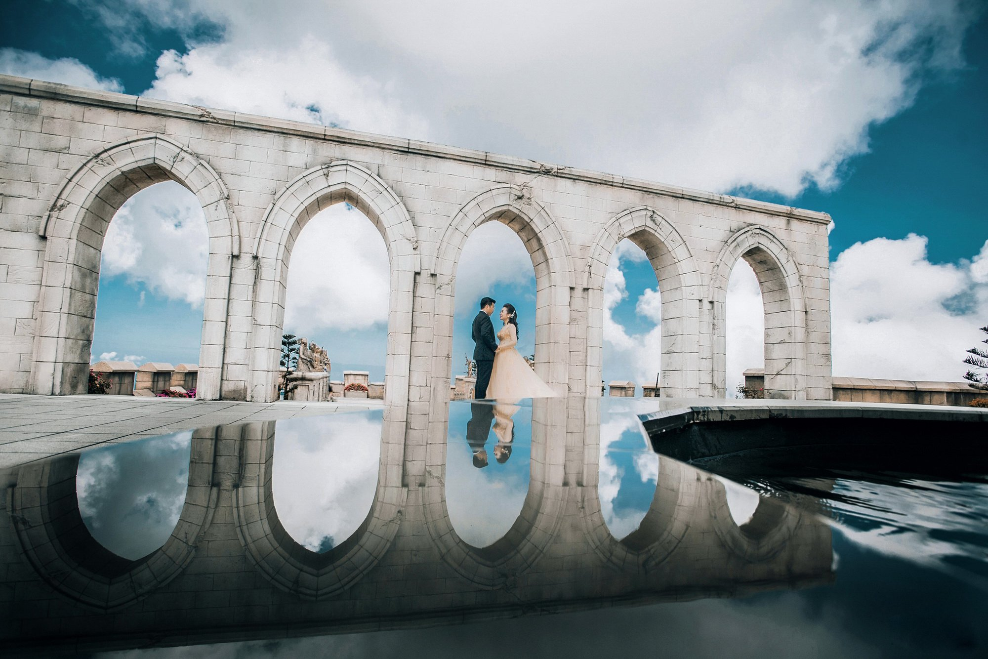 Bộ ảnh cưới xuyên Việt của cô dâu Nam Định cùng đại gia Sài Gòn 6