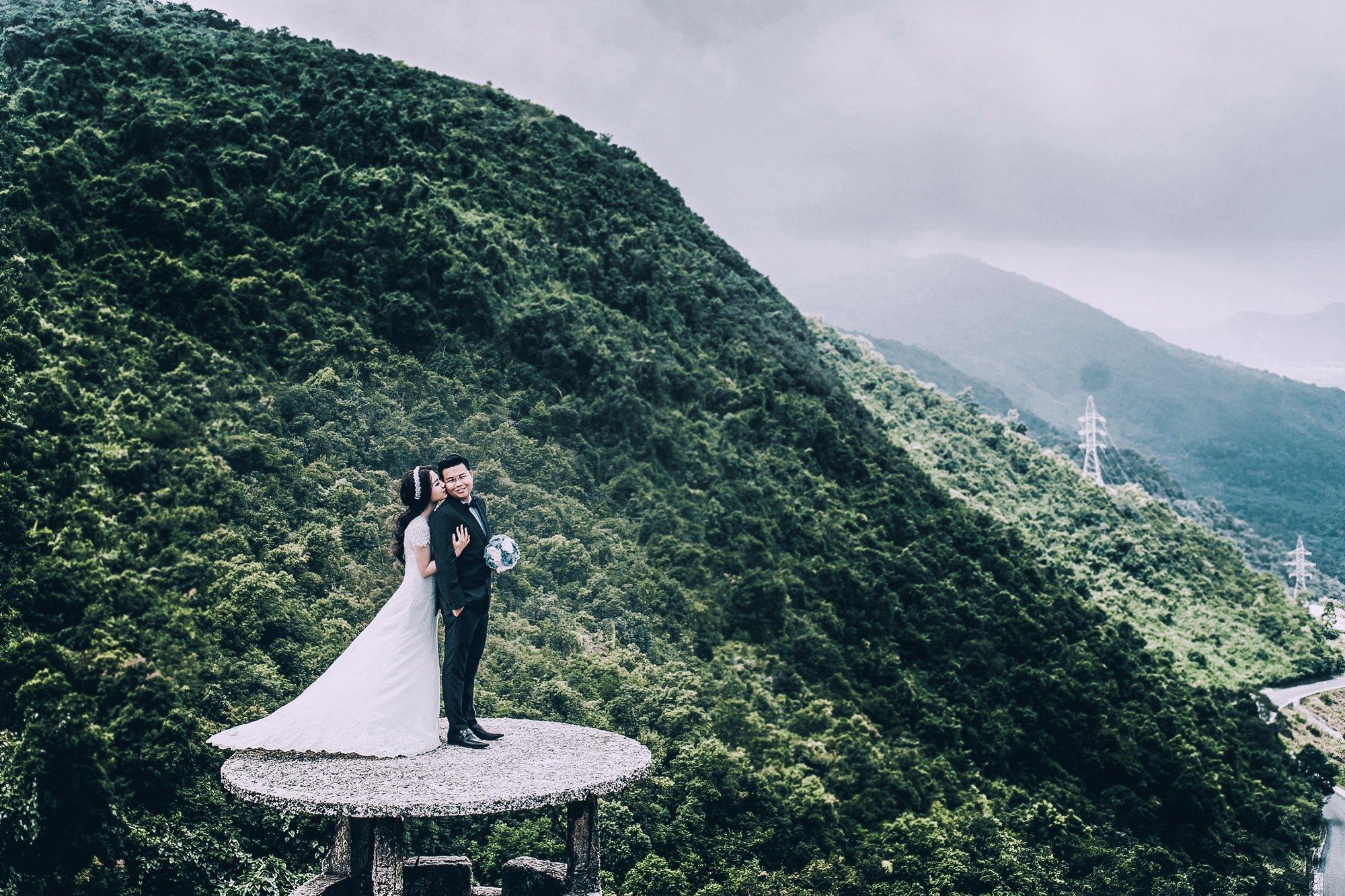 Bộ ảnh cưới xuyên Việt của cô dâu Nam Định cùng đại gia Sài Gòn 5