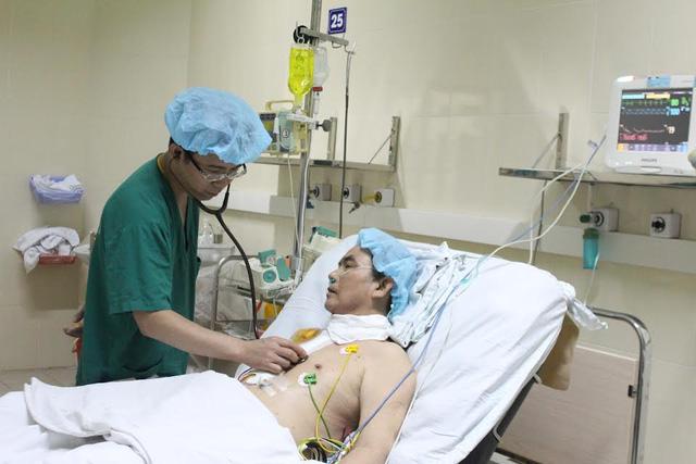 Hai cán bộ ngành công an được ghép tạng xuyên Việt 1