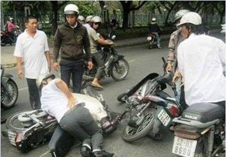 Những vụ dàn cảnh tai nạn giao thông táo tợn để trộm cướp 1