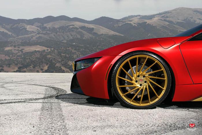 Hình ảnh Độ BMW i8 phong cách siêu anh hùng Iron Man số 4