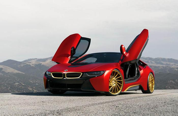 Hình ảnh Độ BMW i8 phong cách siêu anh hùng Iron Man số 1