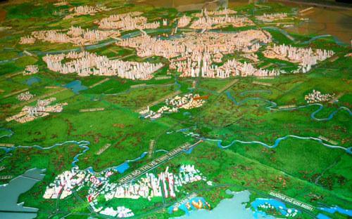 Phú Thọ, Thái Nguyên và Bắc Giang được quy hoạch vào vùng thủ đô 1