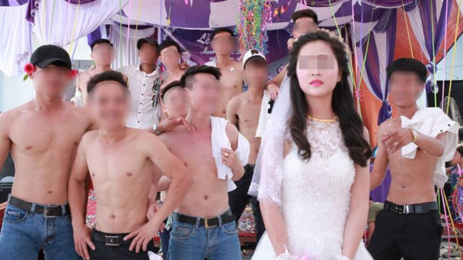 Cô dâu trong bức ảnh cưới gây nhiều tranh cãi trên mạng xã hội lên tiếng 1