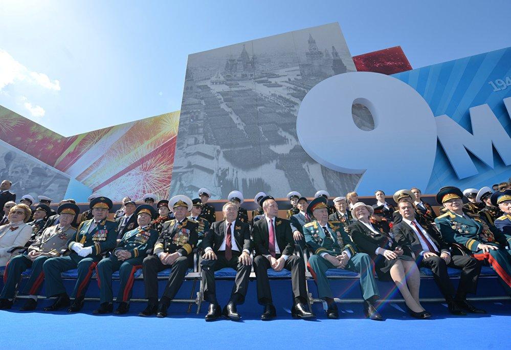 Những hình ảnh ấn tượng nhất trong lễ duyệt binh của Nga 21