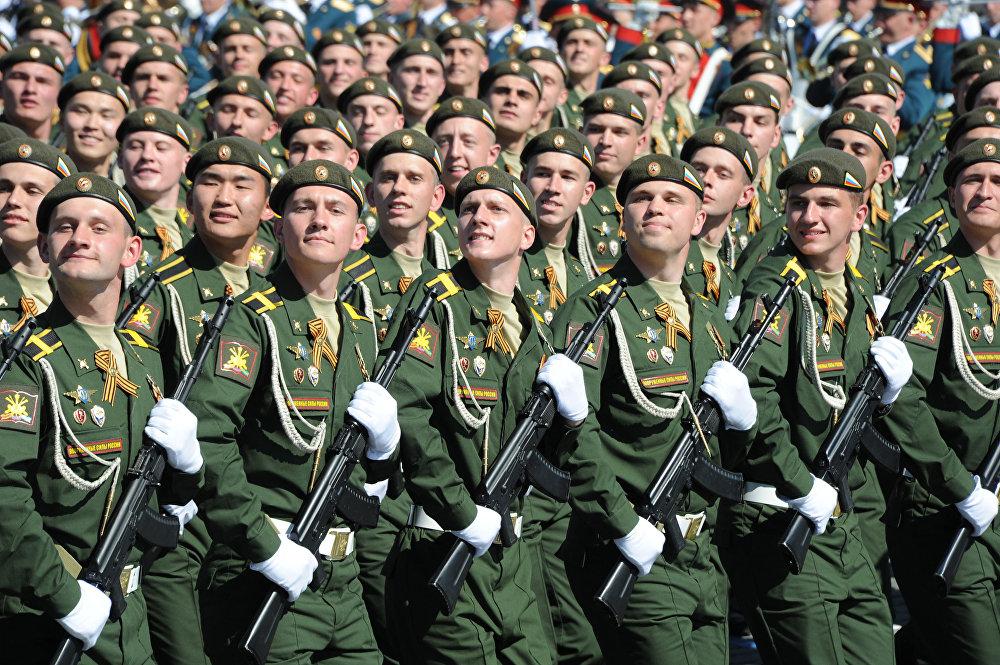 Những hình ảnh ấn tượng nhất trong lễ duyệt binh của Nga 14