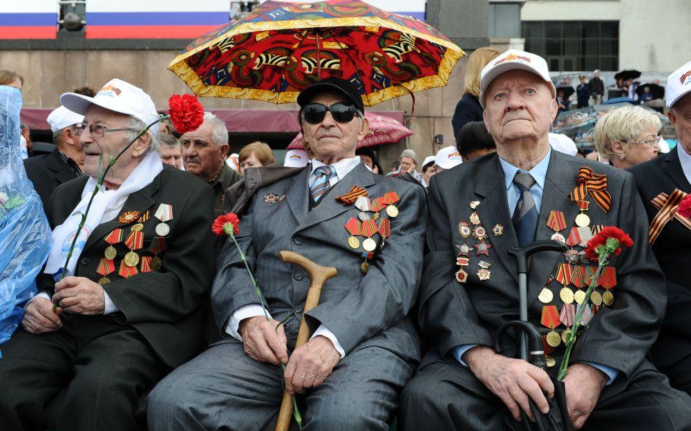 Những hình ảnh ấn tượng nhất trong lễ duyệt binh của Nga 3