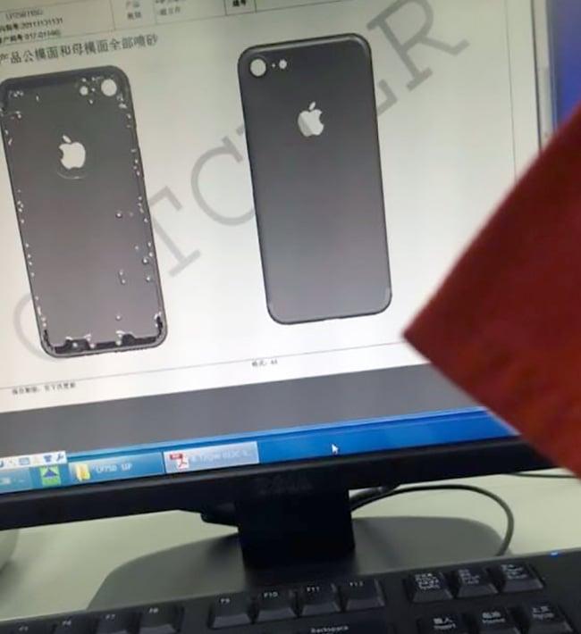 Rò rỉ thiết kế iPhone 7 với kích cỡ như iPhone 6s 2