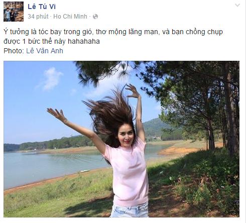 Facebook sao Việt: Kỳ Duyên khiến nhiều người ngỡ ngàng với nhan sắc trong bức ảnh mới 11