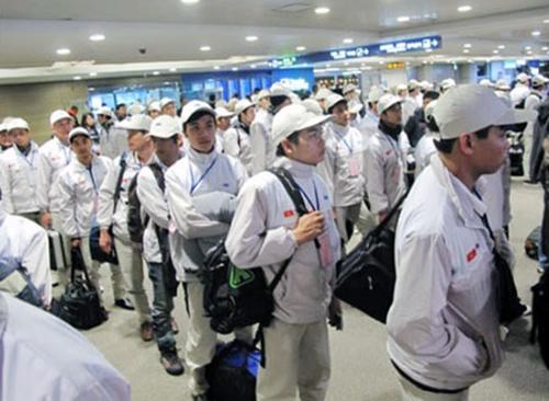 Lao động bất hợp pháp tại Hàn Quốc tự nguyện về nước được miễn xử phạt 1