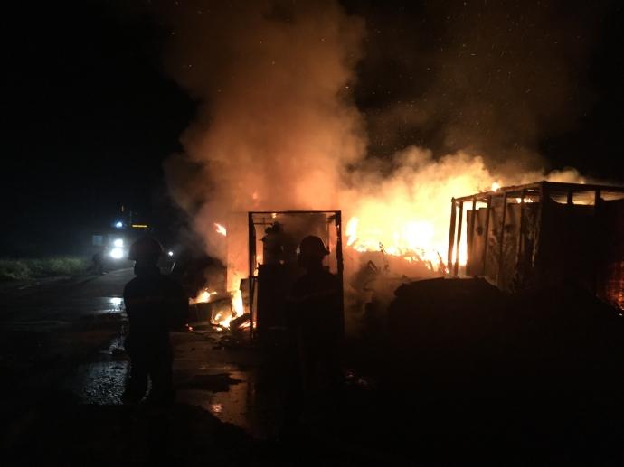 Nhà máy thép nghìn tỷ bỏ hoang ở Vũng Áng bốc cháy dữ dội trong đêm 1