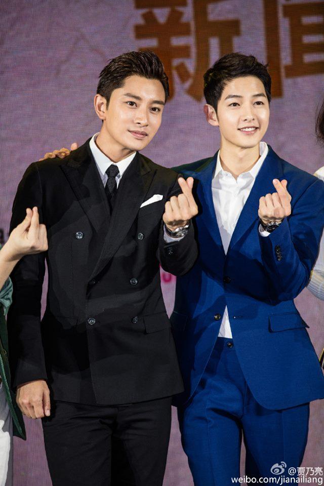 Song Joong Ki hội ngộ nam thần Giả Nãi Lượng 2