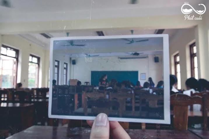 Bộ ảnh chia tay ấn tượng của sinh viên trường báo 9