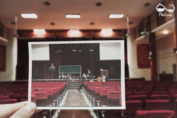 Bộ ảnh chia tay ấn tượng của sinh viên trường báo 6