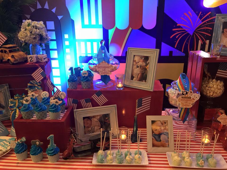 Vy Oanh tổ chức tiệc sinh nhật hoành tráng cho con trai 4