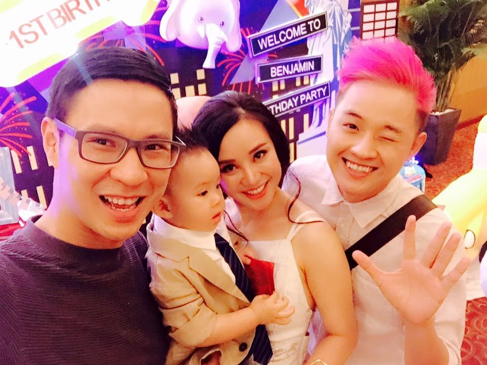 Vy Oanh tổ chức tiệc sinh nhật hoành tráng cho con trai 5