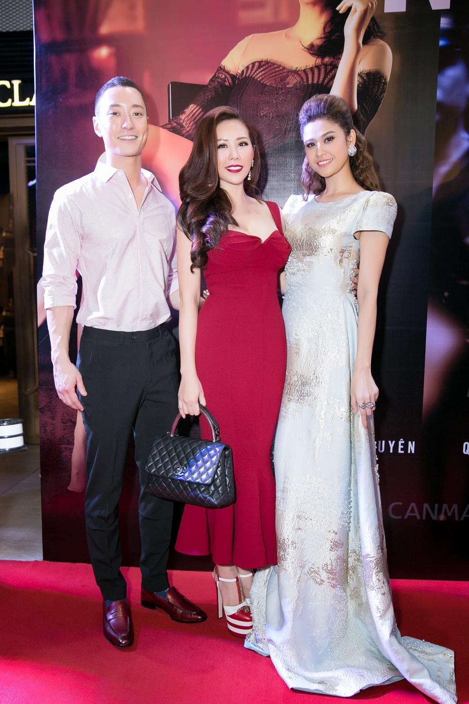Hoa hậu Thu Hoài trẻ trung dự event cùng siêu mẫu Hàn Quốc điển trai 5
