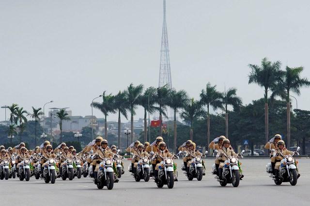Hà Nội cấm đường khi xe chở Tổng thống Mỹ Barack Obama đi qua 1