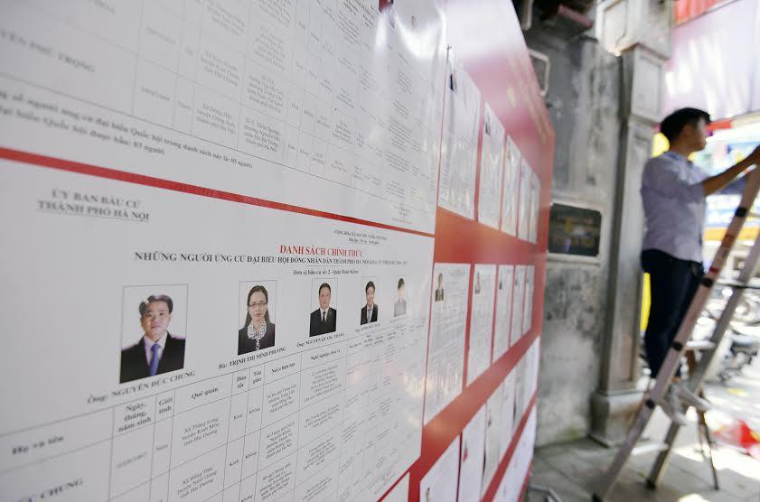 Hà Nội sẵn sàng cho ngày hội toàn dân bầu cử 2