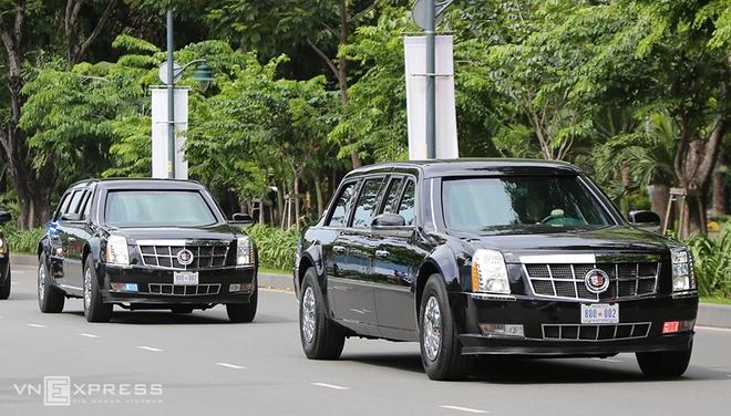 Dàn siêu xe của Tổng thống Obama xuống phố Sài Gòn 5