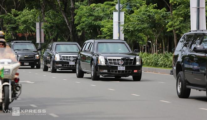 Dàn siêu xe của Tổng thống Obama xuống phố Sài Gòn 6