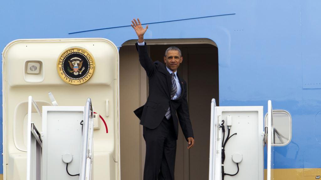 Tổng thống Obama đã lên đường tới Việt Nam