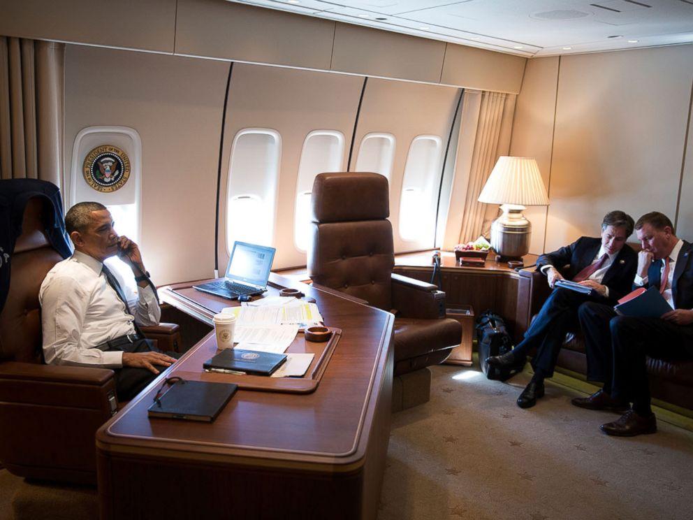 Khám phá bất ngờ về chuyên cơ Không lực Một chuyên chở Tổng thống Obama 4