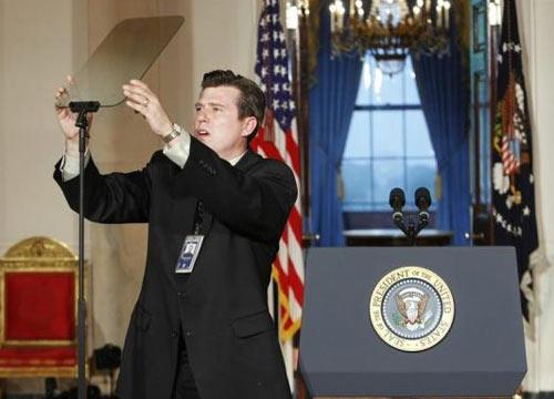 Khám phá 'bảo bối' giúp Tổng thống Obama phát biểu lưu loát 3