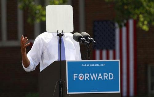 Khám phá 'bảo bối' giúp Tổng thống Obama phát biểu lưu loát 2