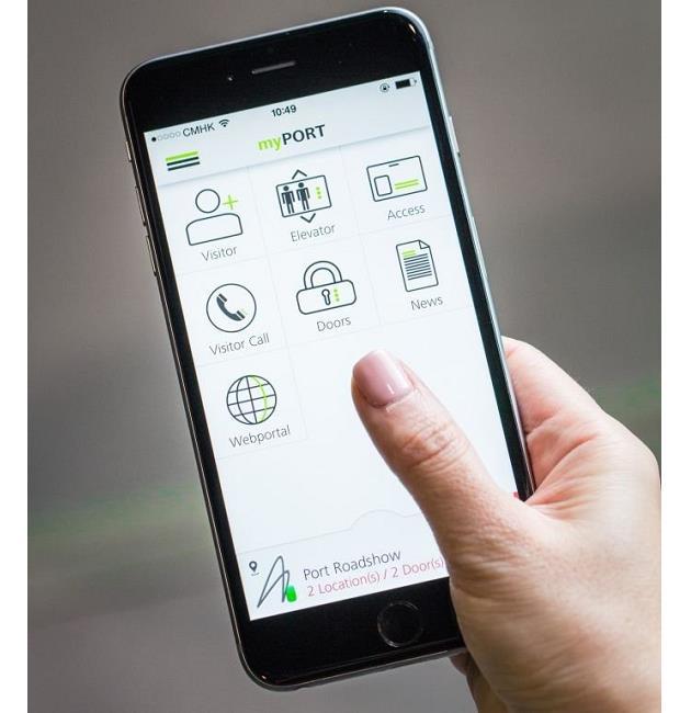Hình ảnh Ứng dụng thông minh giúp người dùng mở và gọi thang máy trên smartphone số 2