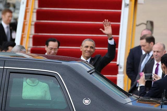 Tổng thống Mỹ Obama đến TP HCM 3