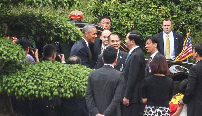 Obama thăm Việt Nam Hình ảnh ấn tượng của Tổng thống Mỹ Obama ở Hà Nội 2