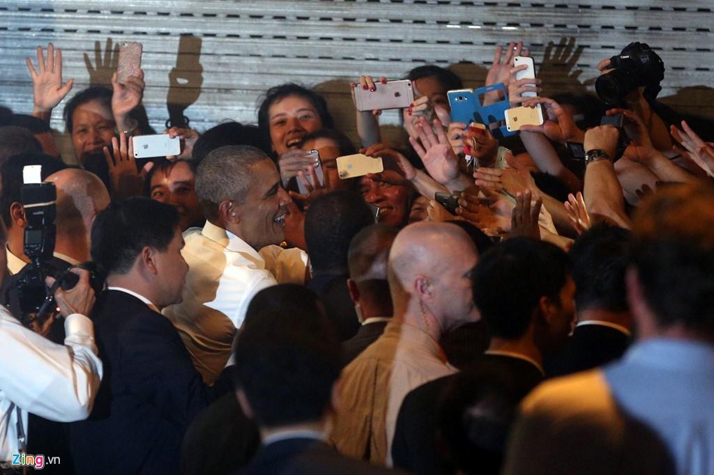 Obama thăm Việt Nam Hình ảnh ấn tượng của Tổng thống Mỹ Obama ở Hà Nội 10