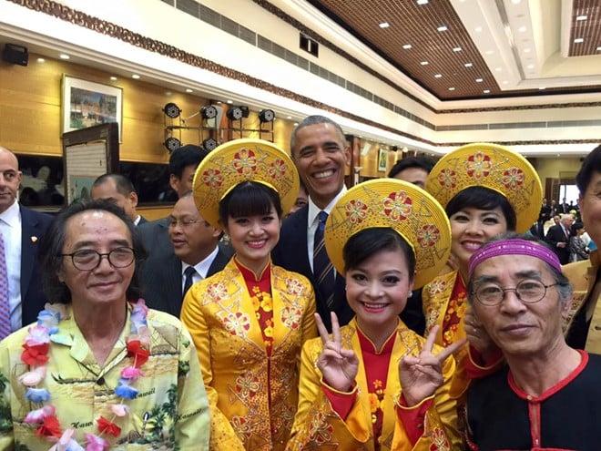 Obama thăm Việt Nam Hình ảnh ấn tượng của Tổng thống Mỹ Obama ở Hà Nội 5