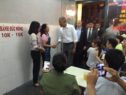 Obama thăm Việt Nam Hình ảnh ấn tượng của Tổng thống Mỹ Obama ở Hà Nội 6
