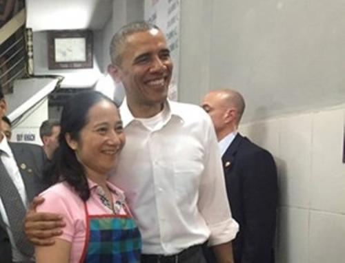 Obama thăm Việt Nam Hình ảnh ấn tượng của Tổng thống Mỹ Obama ở Hà Nội 8