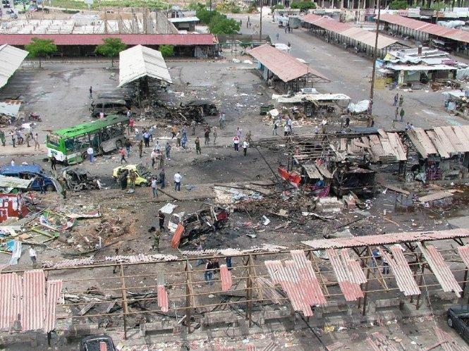 Syria rung chuyển vì đánh bom liên hoàn, 148 người thiệt mạng 1