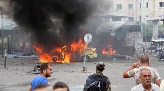 Syria rung chuyển vì đánh bom liên hoàn, 148 người thiệt mạng 2
