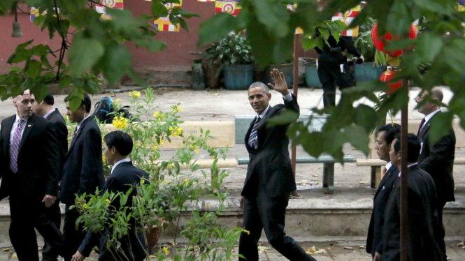 Tổng thống Mỹ Obama đến TP HCM 2