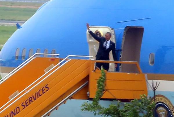 Tổng thống Mỹ Obama đến TP HCM 6