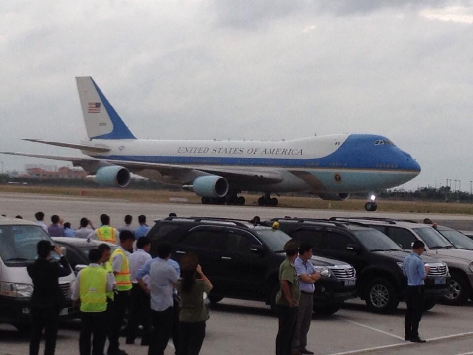 Tổng thống Mỹ Obama đến TP HCM 4